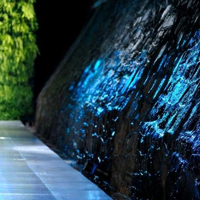 Teste da passarela com água