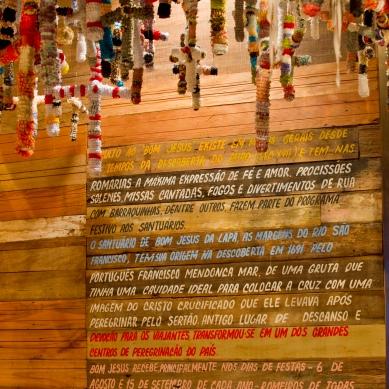 detalhe do ambiente da religiosidade