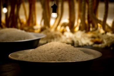 detalhe das bacias de sal