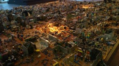 painel de placas eletronicas simulando uma cidade