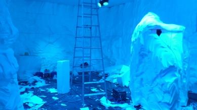 construção do ambiente de gelo