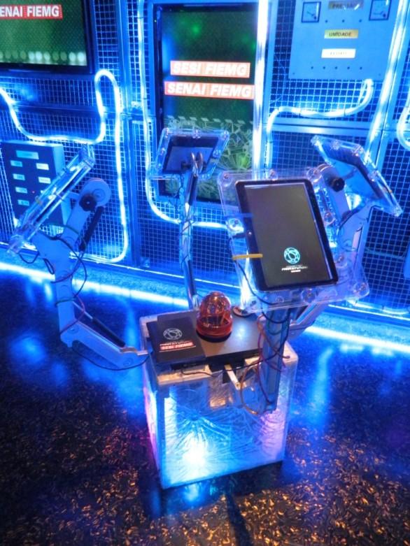 Unidade móvel Fabrica para o Futuro