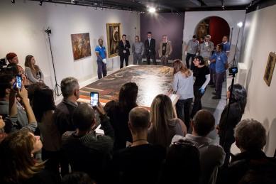 03.08.2018 - BELO HORIZONTE/MG -CASA FIAT DE CULTURA - Exposição São Francisco- Na arte de Mestres Italianos. Foto: Leo Lara/Studio Cerri